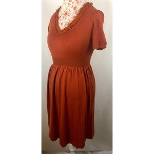 Anthropologie Isabelle Sinclair Spice Womens Dress